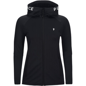 Peak Performance W's Rider Zip Hood Black